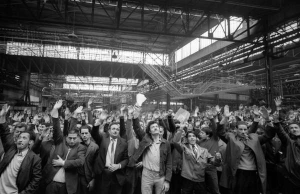 France 1968 workers