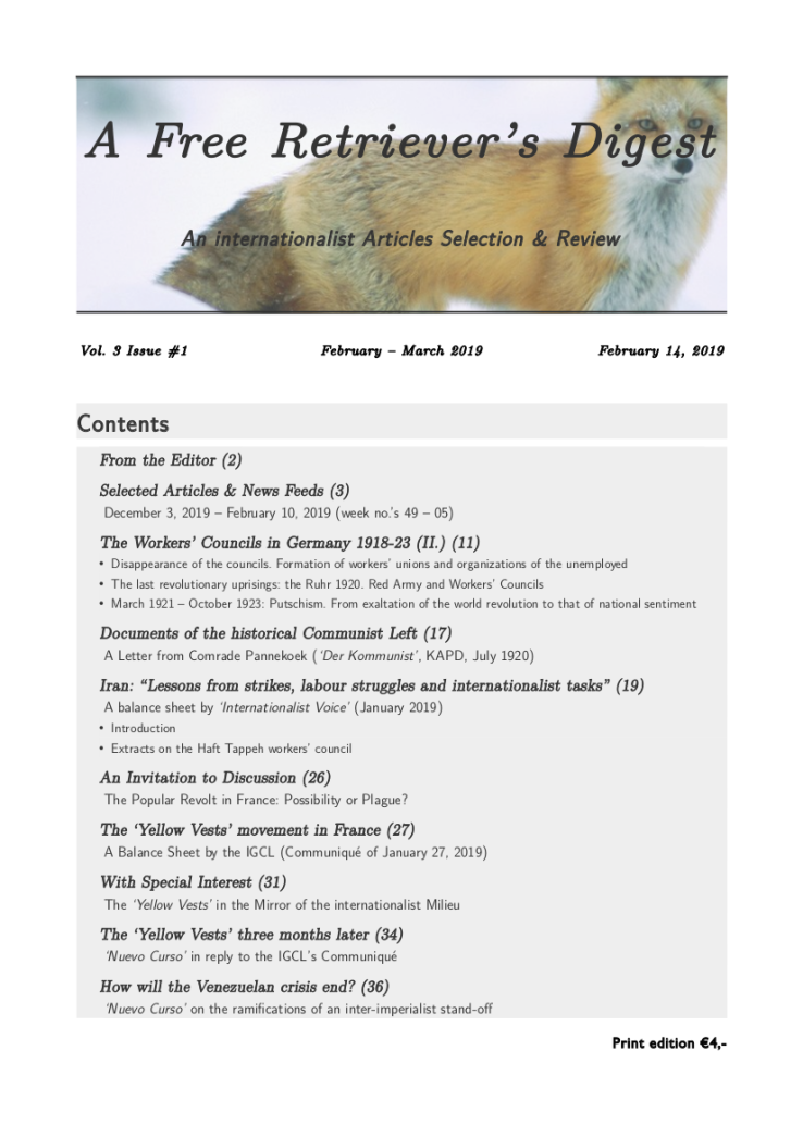 190214 A Free Retriever's Digest Nr 01.cover